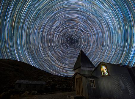 The story behind my Cerro Gordo Star Circles Photograph