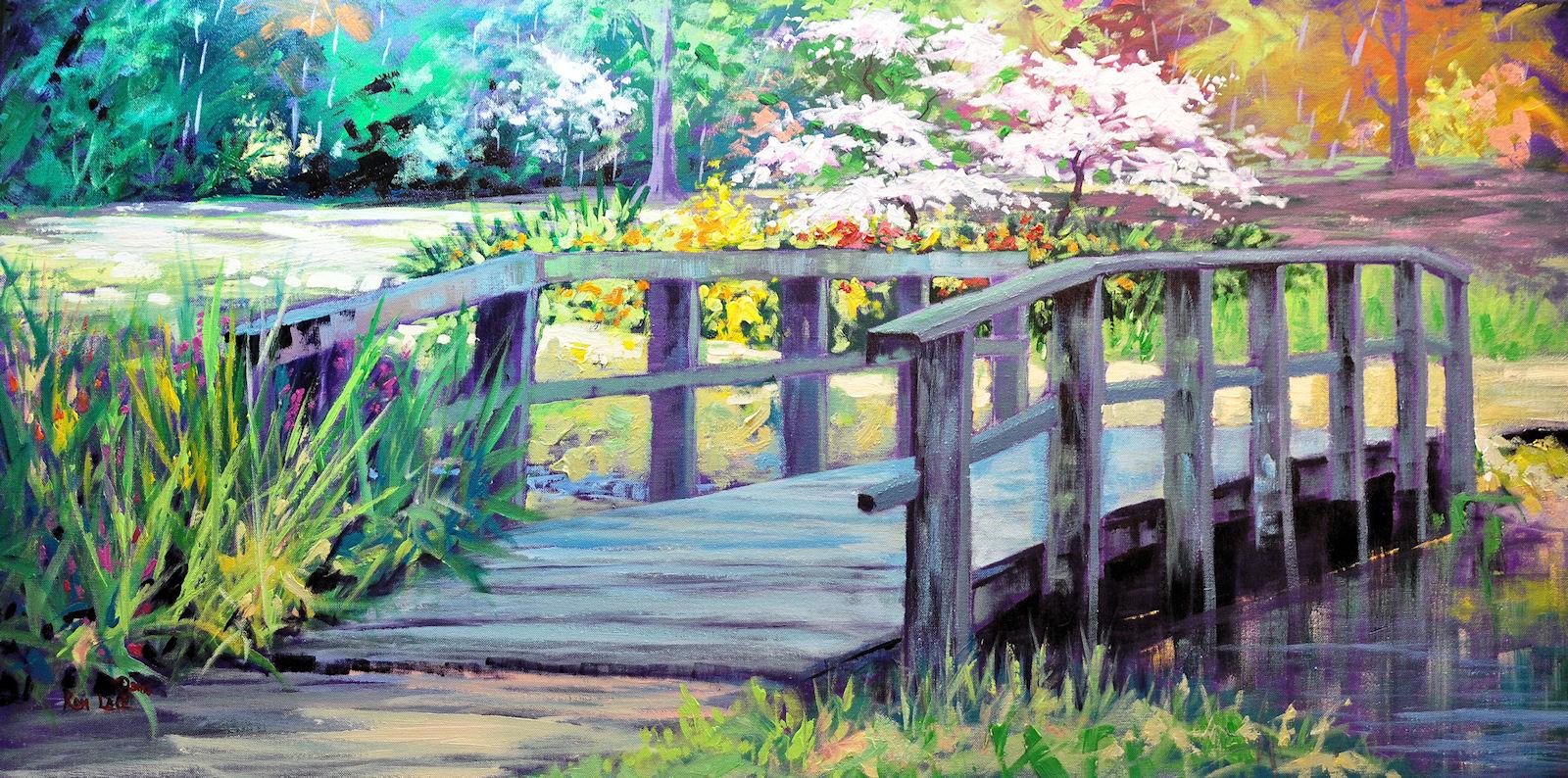 Bridge-Memphis Botanic Gardens