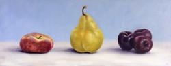 Peach, Pear, Plums