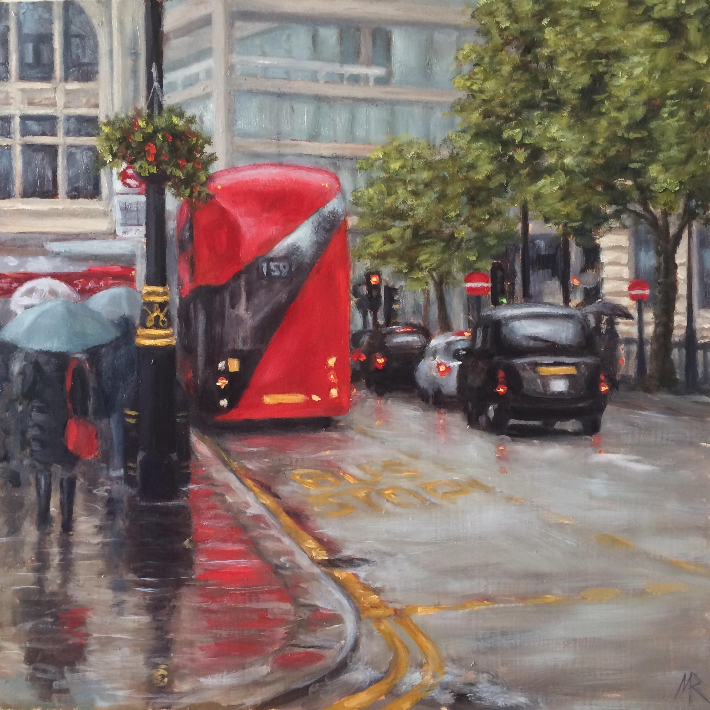 Rainy Day Cockspur Street SW1