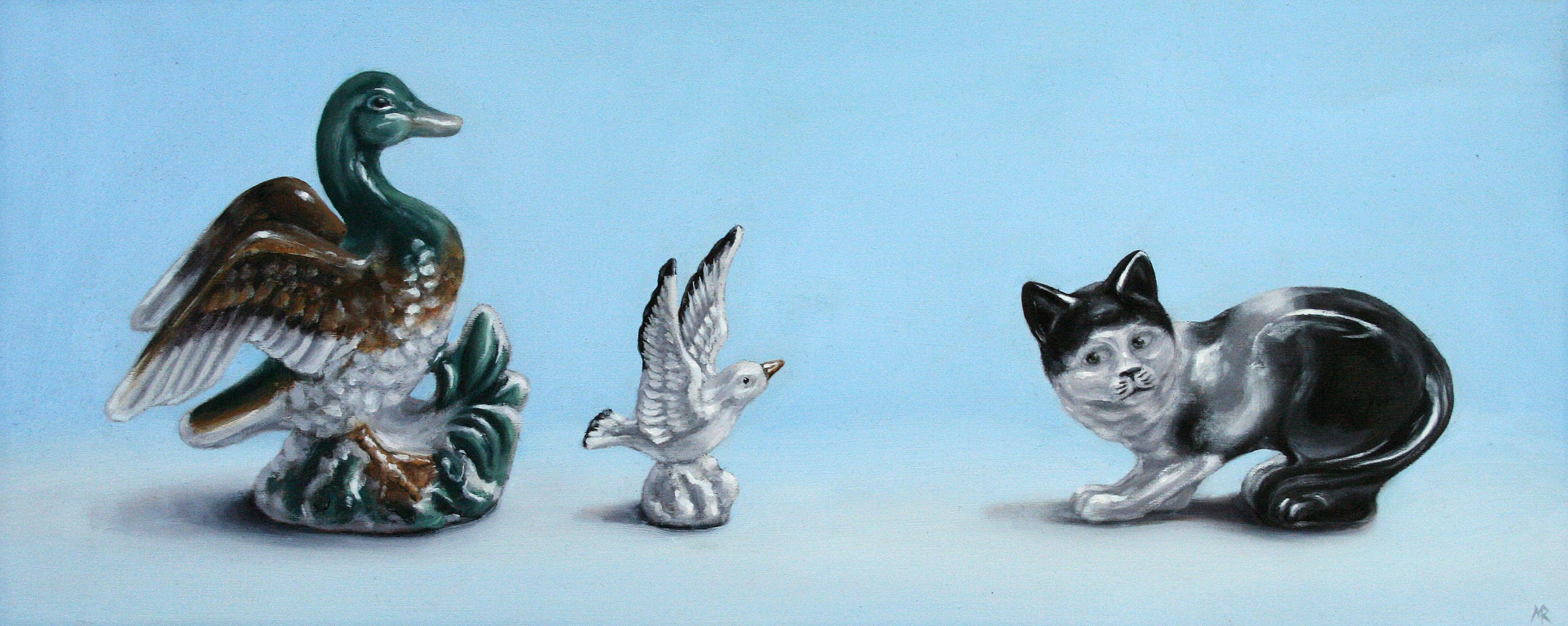 Cat Amongst The Pigeons