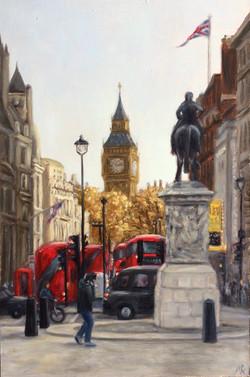Down Whitehall Way SW1A