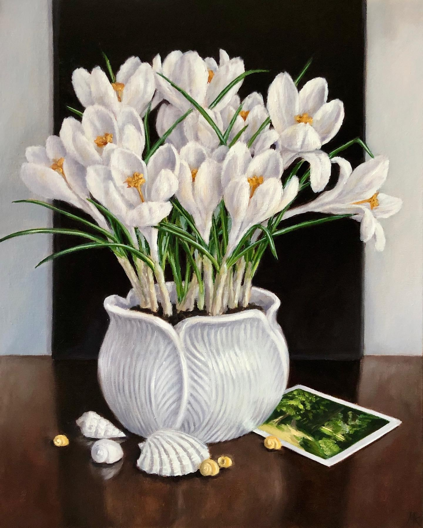 Crocus, Shells and Cezanne