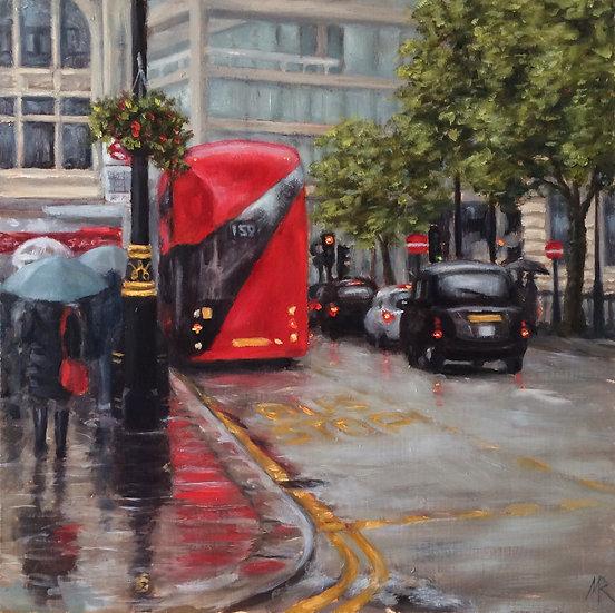 Rainy Day Cockspur Street, London SW1