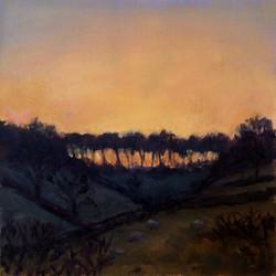 Sun Down Turville Heath