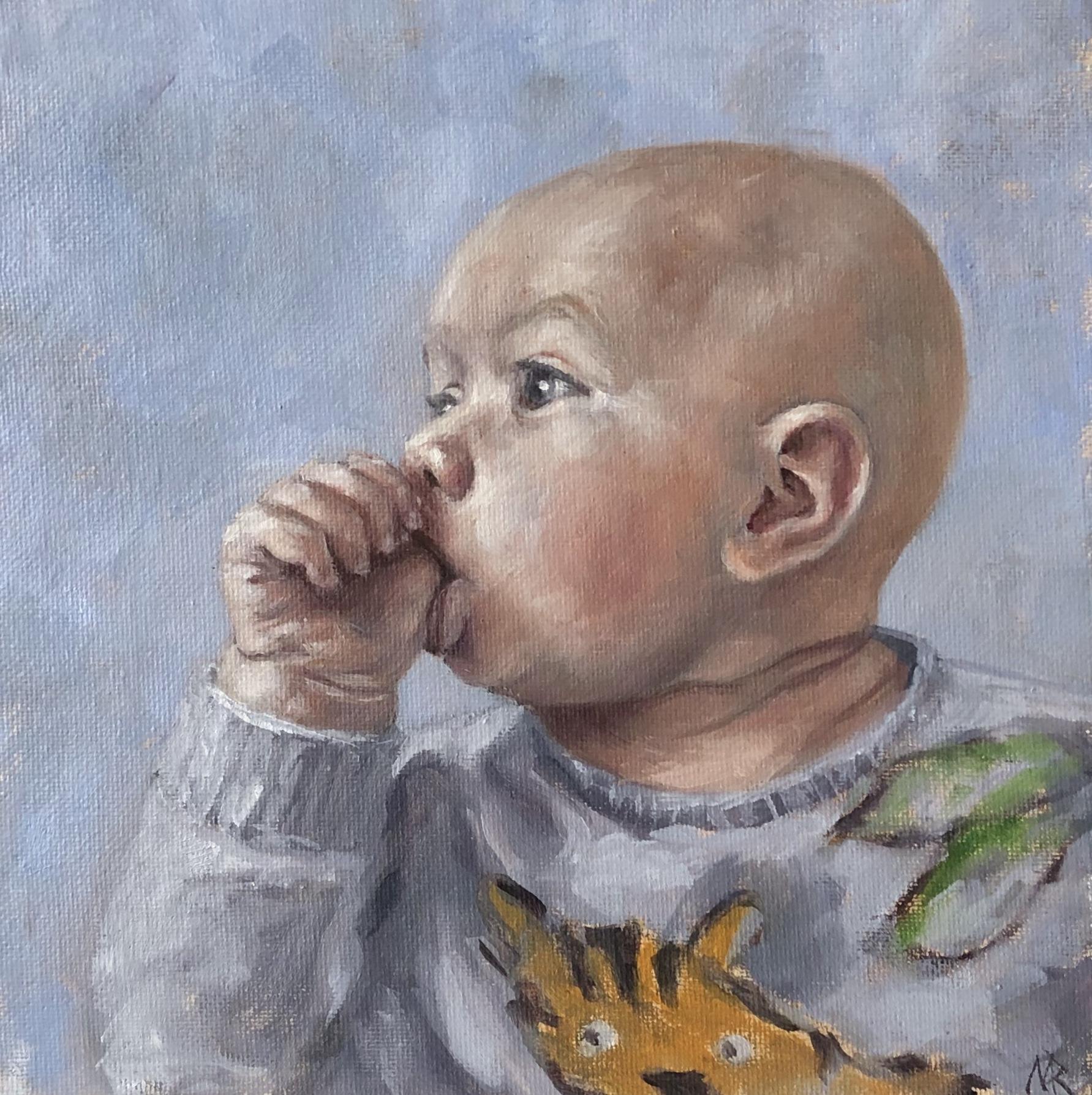 Contemplative Baby