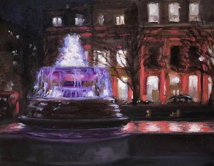 Nightime, Trafalgar Square