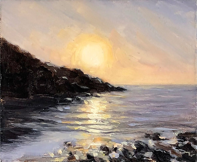 Sunset, Hope Cove