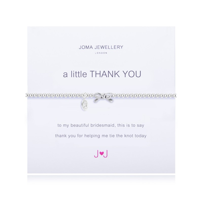 Thank you Bridesmaid - Bracelet