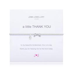 Thank you Bridesmaid - Bracelet