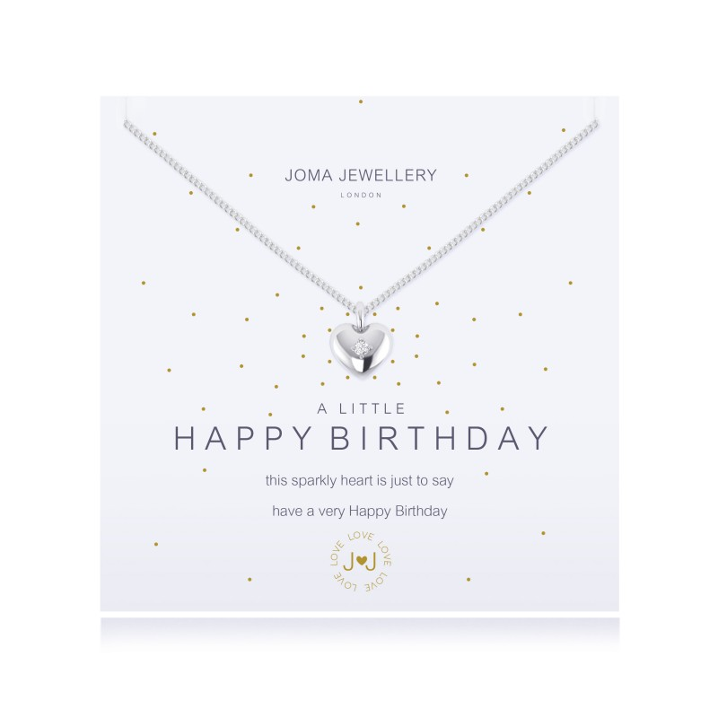Happy Birthday - Necklace