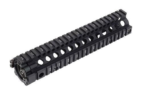 BP0103BK/DE 各社M4対応 MK18 RIS II レイル・ハンドガード BK/DE