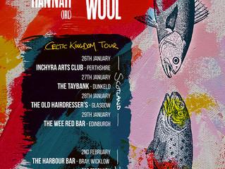 Old Hannah to Tour Scotland & Ireland