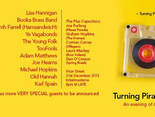 JUST ANNOUNCED! OLD HANNAH will perform at this years Turning Pirate NYE Mix Tape in Vicar ST