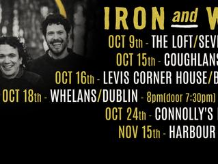 Iron and Wood EP Tour