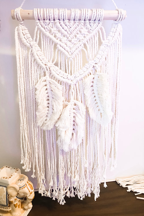 """Feathers"" Wall Hanging"
