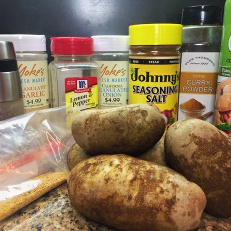 Seasoned Baked Potatoes
