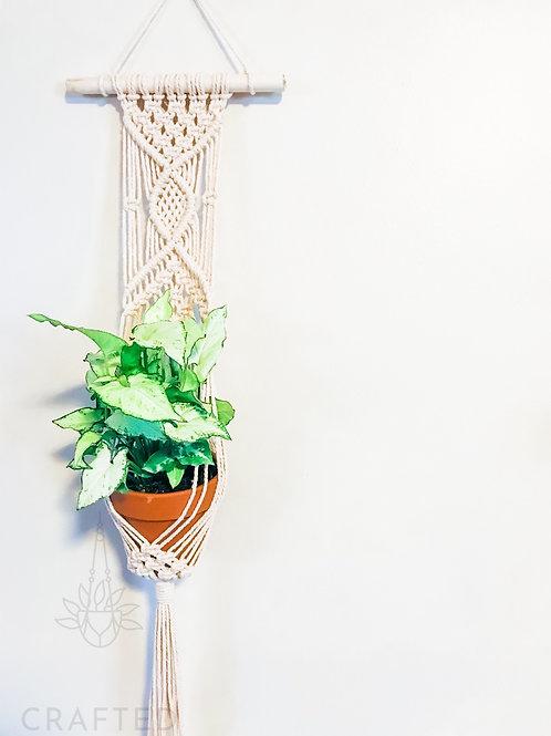 """Woven"" Wall Hanging Basket"