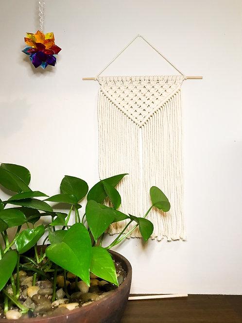 """""""Simply Elegant"""" Macrame Wall Hanging"""
