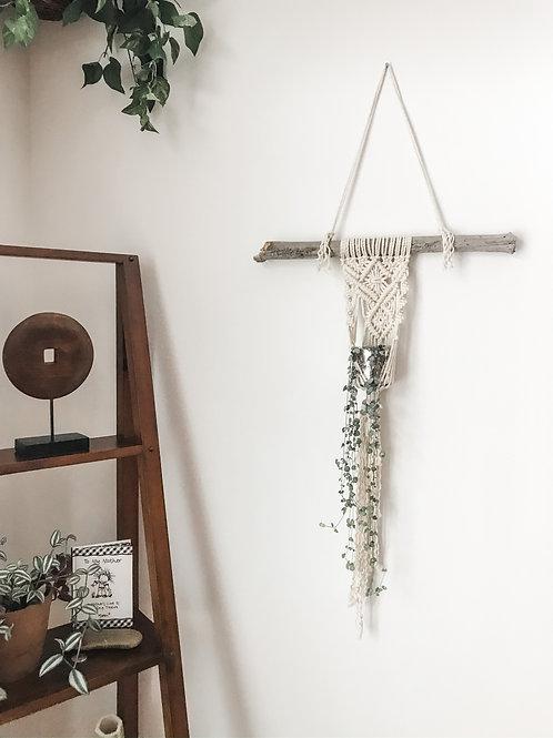 """Twisted"" Macrame Wall Hanger"