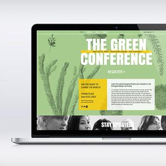 エコ会議のWebデザイン