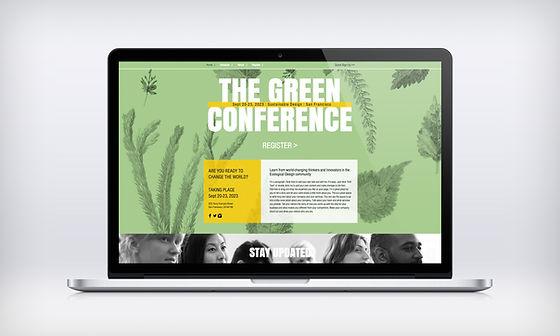 Eco-konference Webdesign