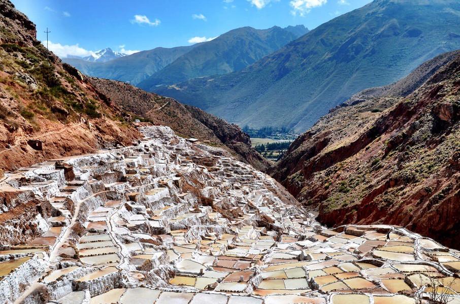 The maras salt pools