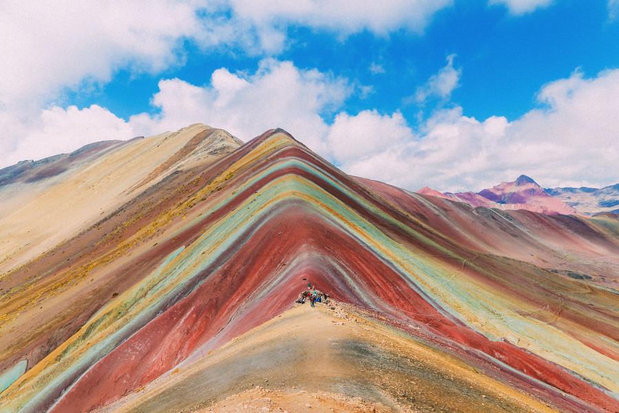 Peak of Rainbow Mountain