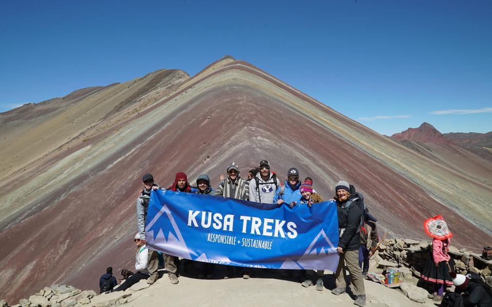 Kusa Treks at Rainbow Mountain