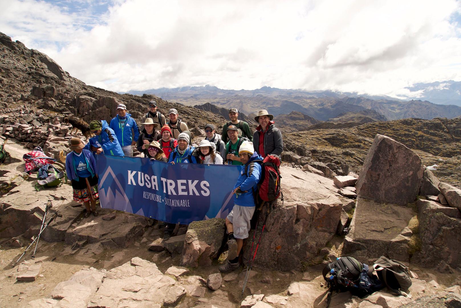 Kusa Treks on the Lares Hike