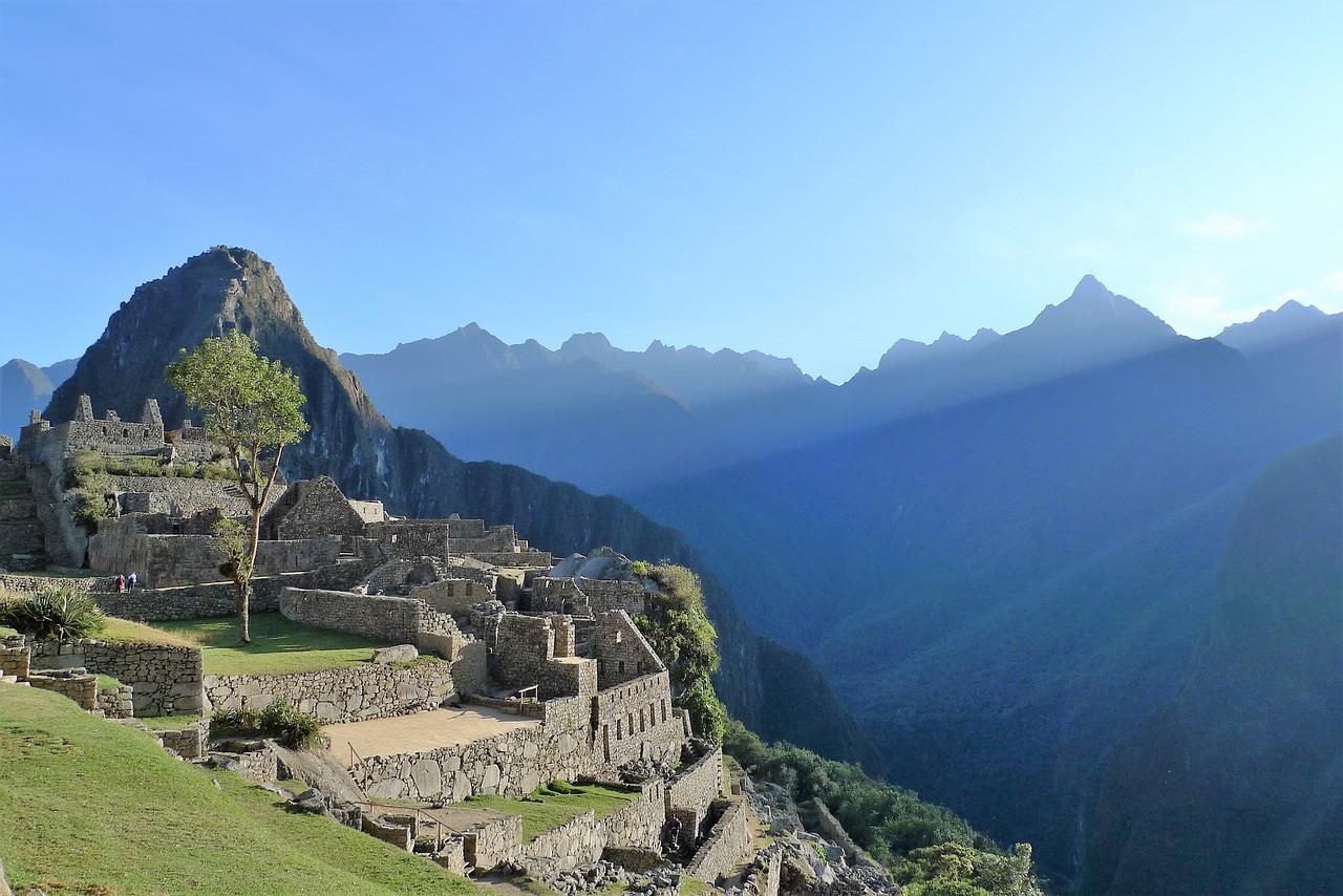 Sun Rise at Machu Picchu
