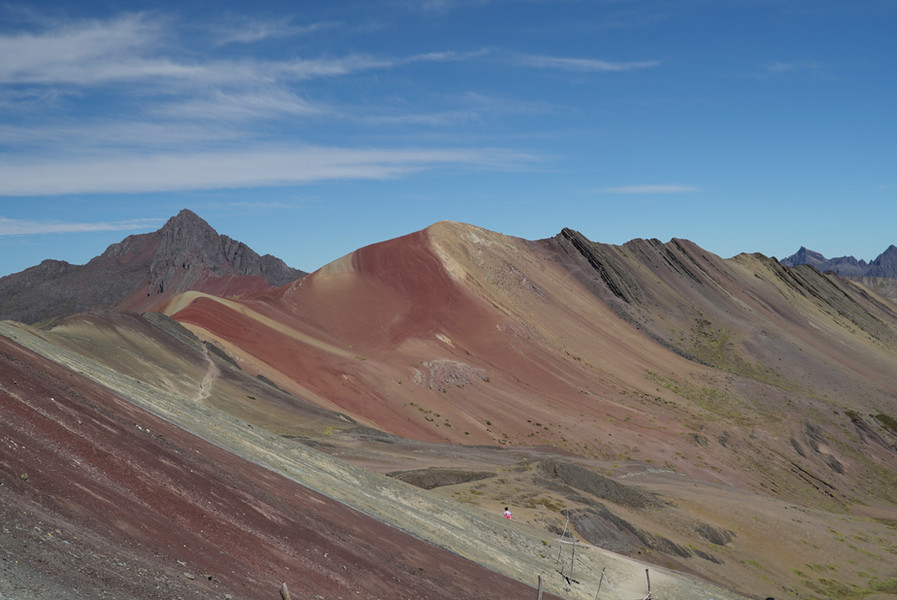 Incredible view of the painted hills