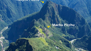 Huyana Picchu and Machu Picchu Mountain