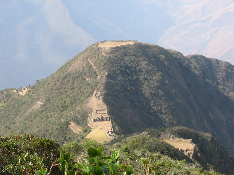 Choquequirao from a distance