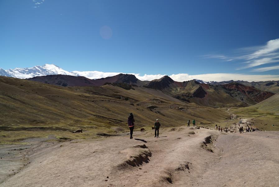 Hiking to Rainbow Mountain