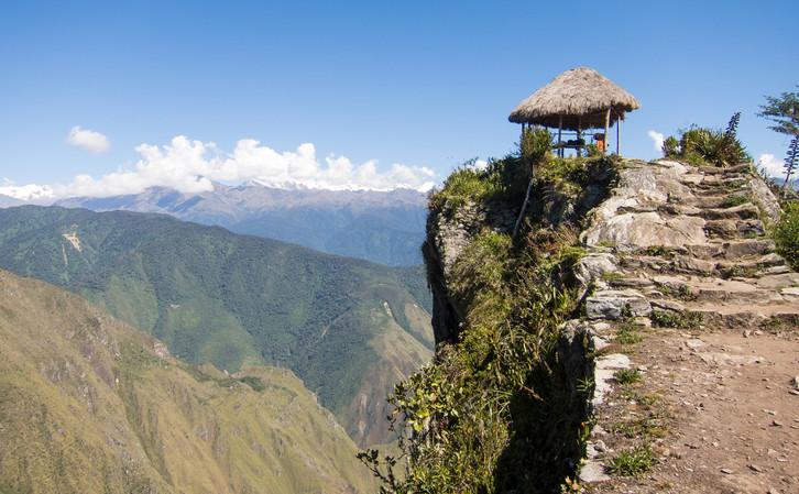 End of Machu Picchu Mountain