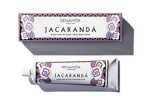 Jacarandá Milky Body Cream