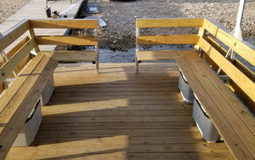 floating bench seats