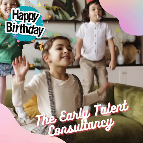 Happy 1st Birthday to The Early Talent Consultancy! 🎂🎈