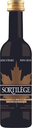 Mignonette de Crème d'érable Sortilège 17% 50ml
