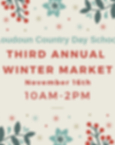 Third Annual Winter Market Details Comin