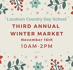 Third Annual Winter Market Details Comin