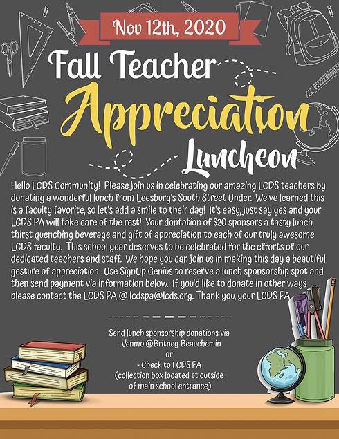 Copy of Happy Teachers Day Flyer Templat