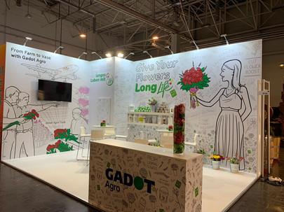 Booth Design - Gadot Agro