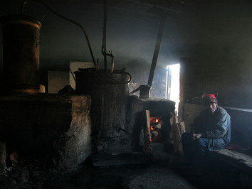 Destilaria Artesanal de bagaço