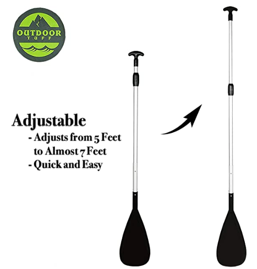 Outdoor Tuff 2-Piece Adjustable Paddle