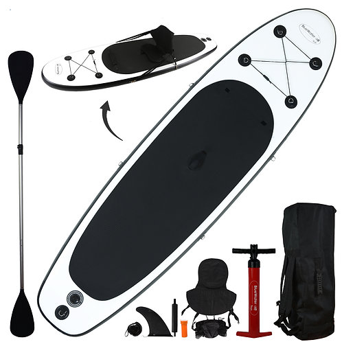 2-in-1 Inflatable Stand-Up Paddleboard/Kayak