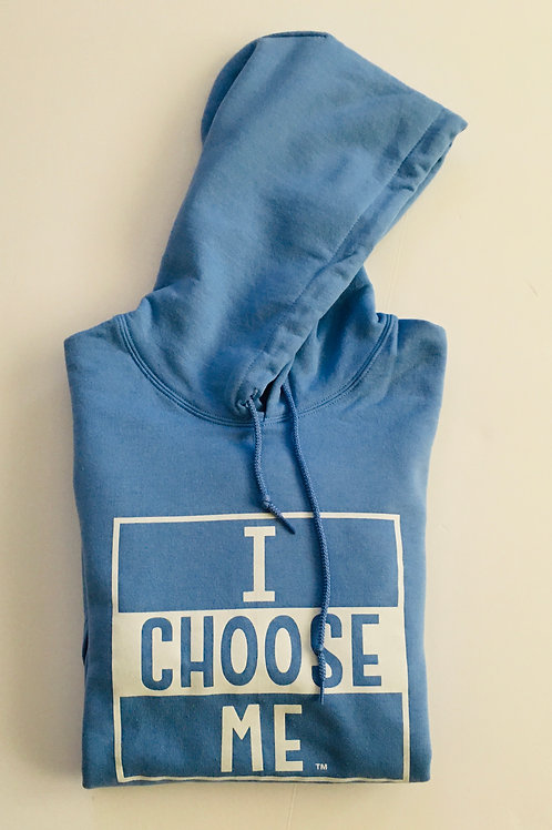 Hoodie Unisex, Lined Square I CHOOSE ME LOGO