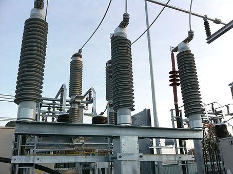 Delar av kraftverk producerade av ABB Composite