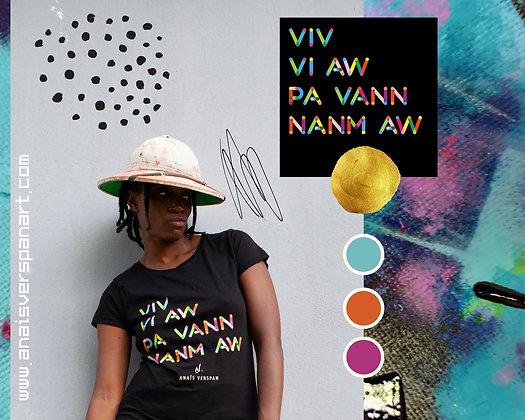 Tee-Shirt Femme VIV VI AW PA VANN NANM AW#4